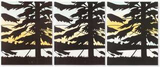 Alex Katz - Twilight Triptych