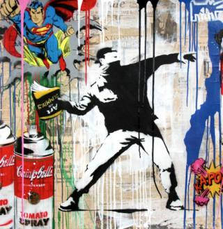 Mr. Brainwash: Banksy Thrower (2017)