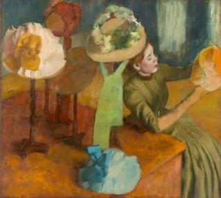 Edgar Degas, The Millinery Shop, 1879–1886