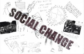 Cooke Center School SKILLS Group Zine Show: Social Change / Freedom