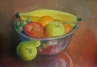 Still Life withBowl of Fruit
