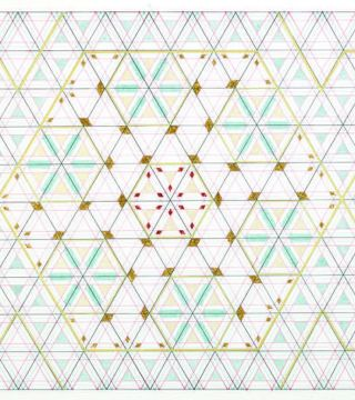 Based on the Hexagon: The Recent Drawings of Monir Farmanfarmaian