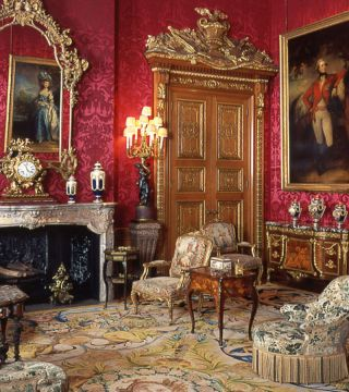 Step this Way: the Red Drawing Room opened up