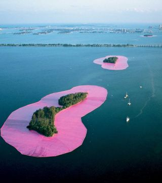 Christo and Jeanne-Claude: Surrounded Islands, Biscayne Bay, Greater Miami, Florida, 1980-83: A Documentary Exhibition