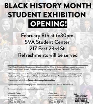 Black History Month Exhibition