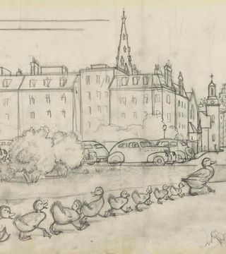 Make Way for Ducklings					 					The Art of Robert McCloskey