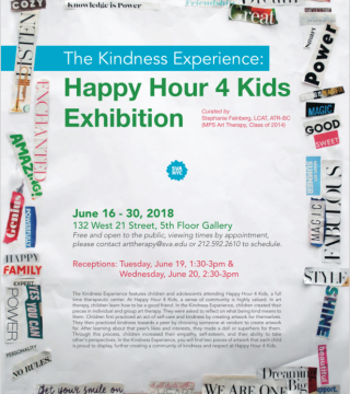 The Kindness Experience: Happy Hour 4 Kids Exhibition
