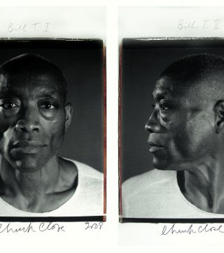 Chuck Close Photographs