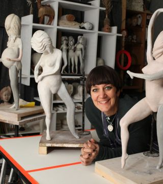 Degas, dolls and life drawing: Cathie Pilkington in the RA Schools