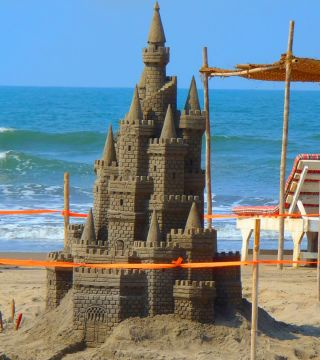 SAND SCULPTURE VIEW I