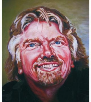 Sir Richard Branson : Portrait