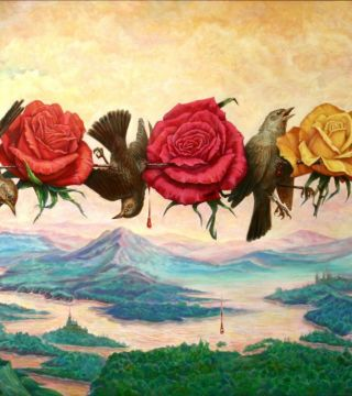 Nightingales and roses