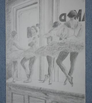 my version of a dancer poster