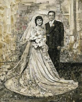 Vik Muniz, Wedding (Album), 2013 (c) Vik Muniz. Courtesy Xippas Galleries & Vik Muniz Studio