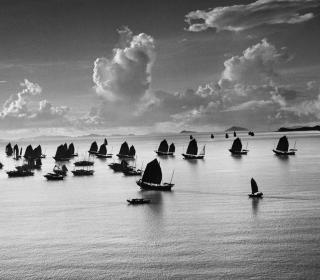 Harbour of Kowloon, Hong Kong, China, 1952 © Werner Bischof / Magnum Photos