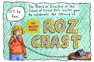 The Masters Series: Roz Chast