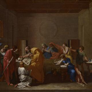 Poussin's virtual reality