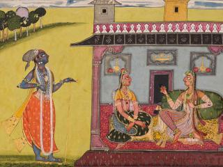 An Enchanted Land					 					A Century of Indian Paintings at the MFA