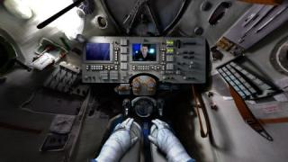 Tim Peake's Spacecraft and virtual reality experience
