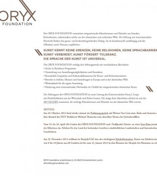 ORYX Foundation