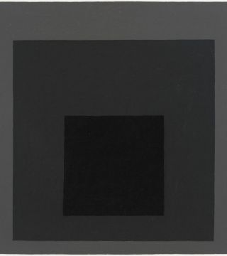 Josef Albers Grey Steps, Grey Scales, Grey Ladders