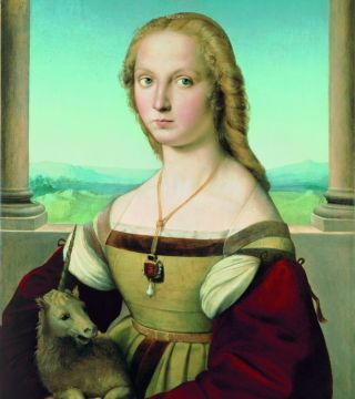 "Sublime Beauty: Raphael's ""Portrait of a Lady with a Unicorn"""