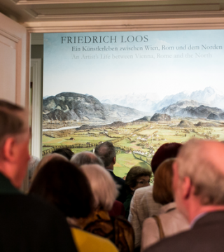 Friedrich Loos – An Artist's Life between Vienna, Rome and the North