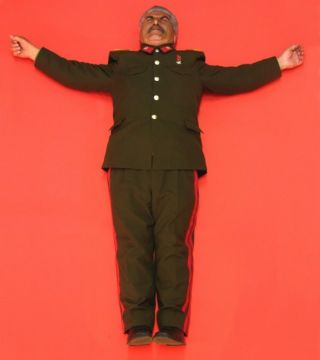 Revolution Icons - Crucified Leaders (Stalin)
