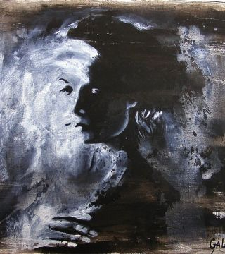 The Shadow, 25,5x29,5in. (65x75cm), acrylic on canvas