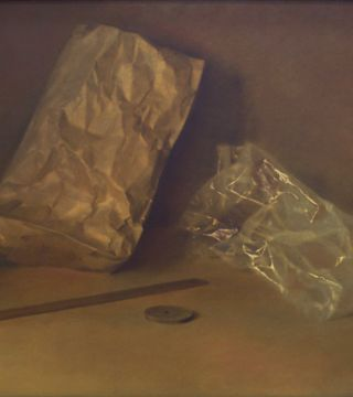 Still life with the paper bags