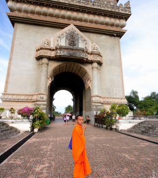 Arc de Triumph of Laos